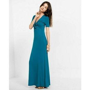 Express turquoise Maxi dress size M